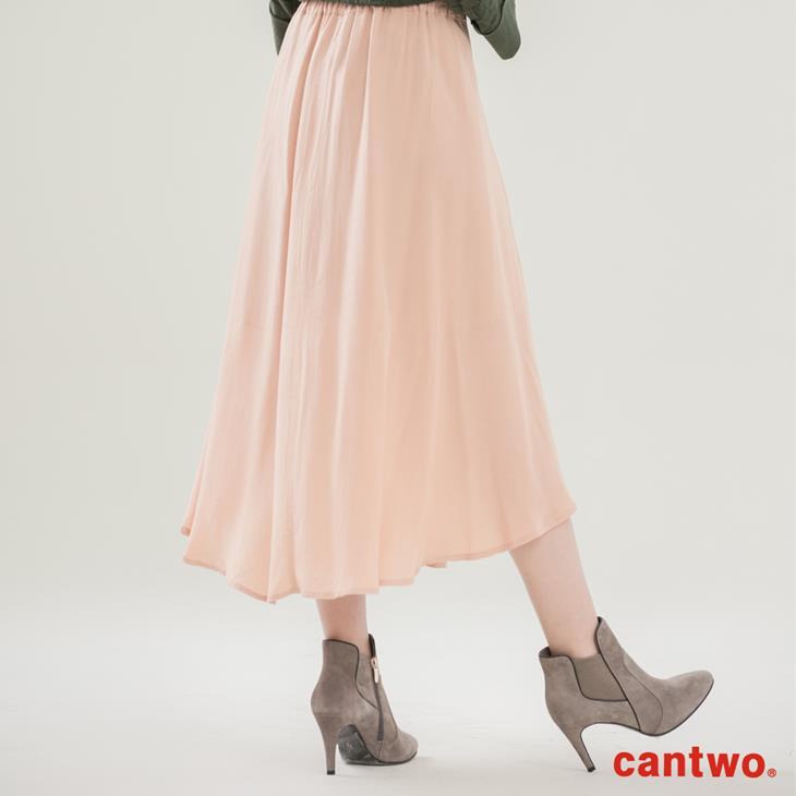 cantwo波浪不規則長裙(共二色) 1