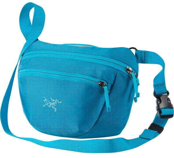 【鄉野情戶外專業】 ARCTERYX 始祖鳥  加拿大  MAKA 2 腰包/隨身包 旅行包 護照包 側背包-亞得里亞海藍/17172 【容量3L】