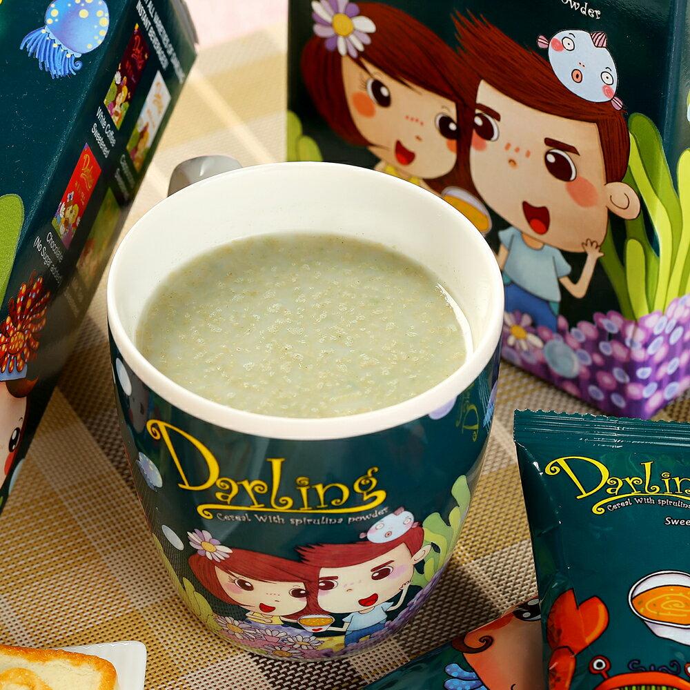 《親愛的》藍藻燕麥片16包(33g/包) 3