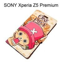 航海王週邊商品推薦海賊王皮套 [J22] SONY Xperia Z5 Premium E6853 航海王 喬巴【台灣正版授權】