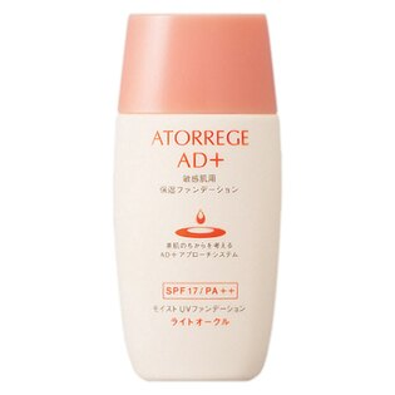 ATORREGE AD+潤色防護粉底液(健康膚色)SPF17/PA++(30ml)