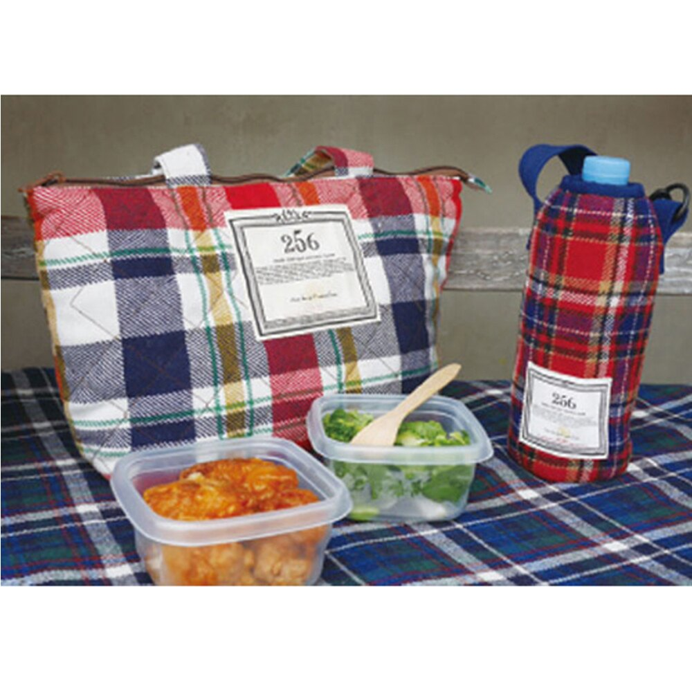 【DESTINO STYLE】256經典格紋保溫午餐袋 3
