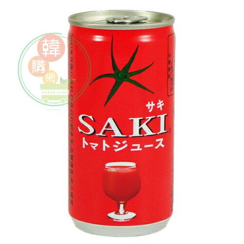 【韓購網】韓國SAKI蕃茄汁180ml★無鹽蕃茄汁人氣番茄果汁★韓國飲料