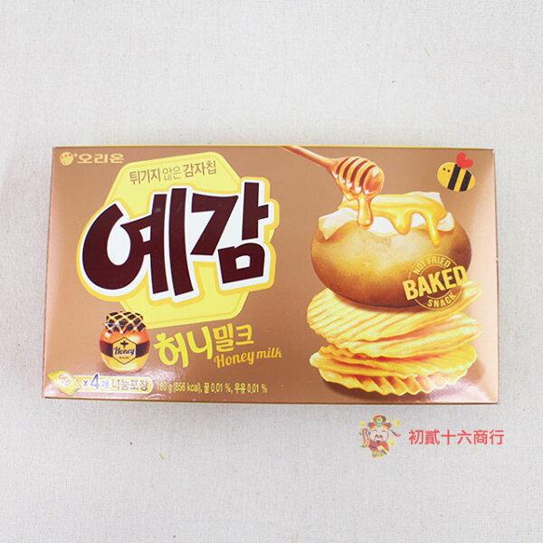 【0216零食會社】韓國好麗友-烘培洋芋片(蜂蜜奶油味)180g
