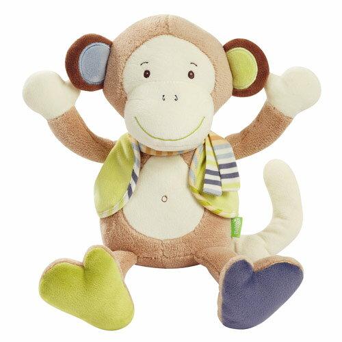 德國【BabyFEHN】叢林夥伴小猴布偶玩具 0