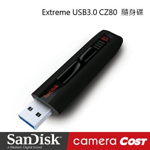 SanDisk Extreme USB3.0 CZ80 32G 隨身碟(享有終身有限保固)