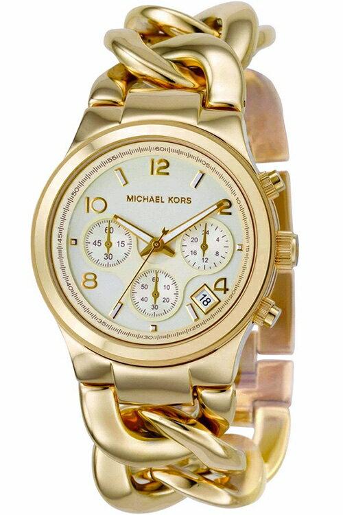 美國Outlet正品代購 MichaelKors MK 玳瑁三環 手鍊 手錶 腕錶 MK3131 2