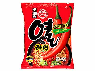 有樂町進口食品 韓國 不倒翁辛辣拉麵-單包~韓國泡麵 8801045521015 - 限時優惠好康折扣
