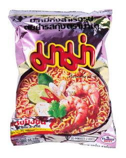 有樂町進口食品 泰國 MAMA蝦味麵~單包 泰國泡麵