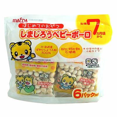 有樂町進口食品 日本前田巧虎嬰兒蛋酥-加鈣(6入) 4901147303695