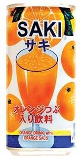 有樂町進口食品 SAKI柳橙汁~單罐 另有禮盒