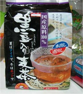 有樂町進口食品 日本 JA 黑豆麥茶~另有野草健康茶 4908804004261