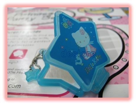 有樂町進口食品 日本 Hello Kitty 娃娃鏡子 手機掛飾鑰匙圈2 號