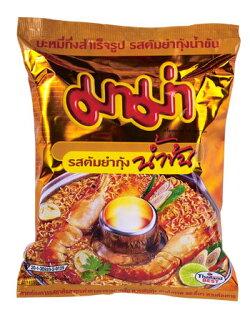 有樂町進口食品 泰國《MAMA》特級酸辣麵~單包 泰國泡麵