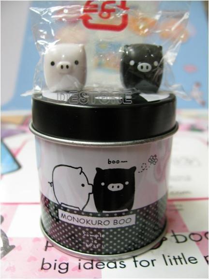 有樂町進口食品 日本黑白豬磁鐵罐 共10款 - 限時優惠好康折扣