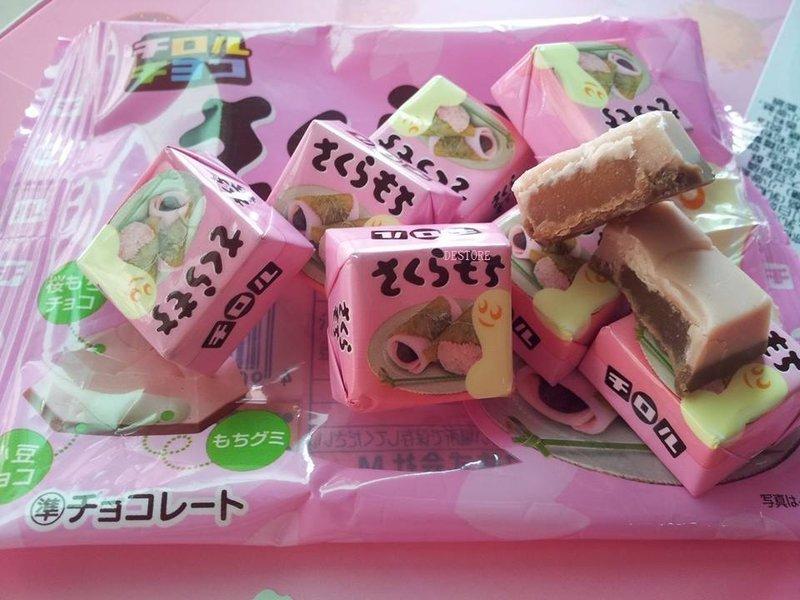 有樂町進口食品 松尾巧克力 松尾櫻花巧克力56g~日本櫻花季 4902780029119 - 限時優惠好康折扣