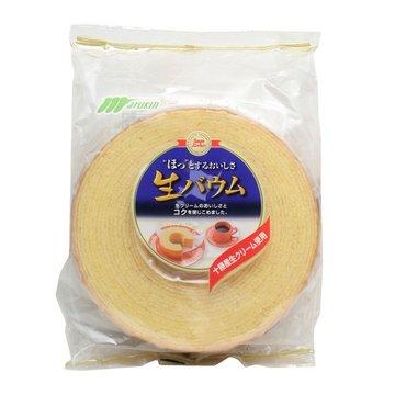 有樂町進口食品 特價優惠 丸金鮮奶年輪蛋糕*(整顆)~選用日本十勝產鮮奶油 4978323900054