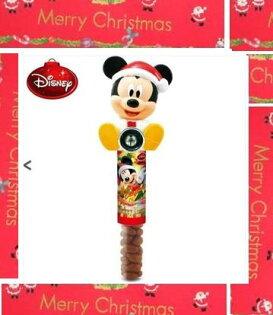 有樂町進口食品 日本 交換禮物 聖誕限量商品 Rilakkuma 迪士尼 米奇 搖搖鈴噹(附巧克力球)