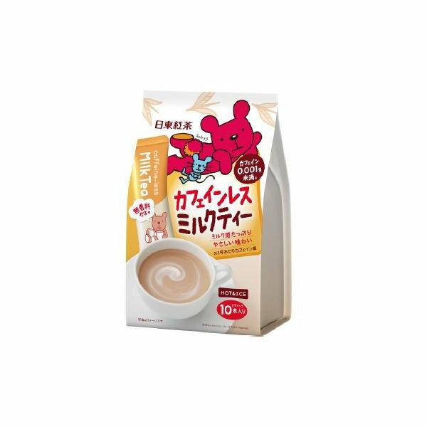 有樂町進口食品 日東低咖啡因 奶茶J100 4902831507931