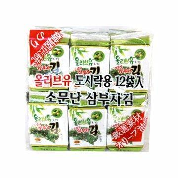 有樂町進口食品 韓國原裝進口海苔(12入) 8809094844406 0