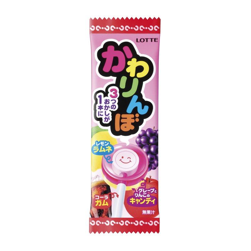 有樂町進口食品 日本 樂天不可思議棒棒糖 20支入 4903333155842 1