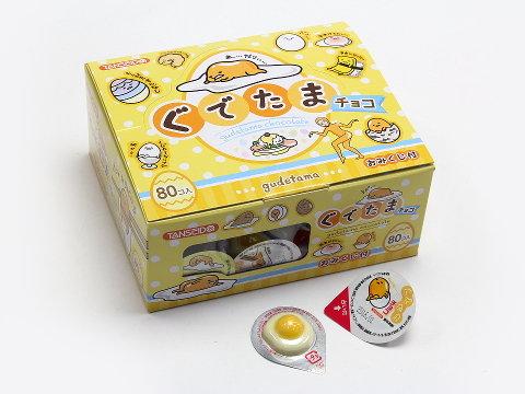 有樂町進口食品 日本 丹生堂 奶油哥 雞蛋哥 巧克力80顆入 新發售 蛋黃哥 0