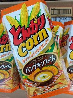 日本 好侍 金牛角玉米餅干 南瓜農湯味 日式金牛角
