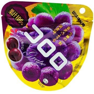 有樂町進口食品 日本 UHA KORORO葡萄味果汁糖(40g)濃郁葡萄香味 ★讓人吃過就念念不忘 1