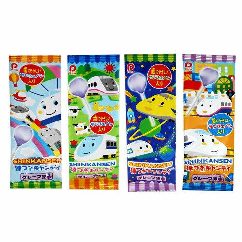 有樂町進口食品 日本新幹線葡萄棒棒糖 (30隻入/盒) 4902435000753 0