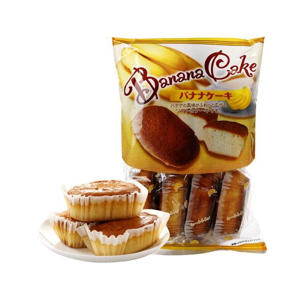 有樂町進口食品 日本幸福堂 香蕉蛋糕 綿蜜香醇150g 4933121401363