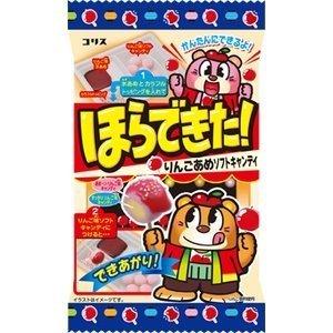 有樂町進口食品 日本 Coris 自己動手做-蘋果軟糖 34g - 限時優惠好康折扣
