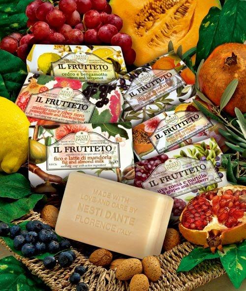 有樂町進口食品 Nesti Dante 義大利手工皂-天然鮮果系列-檸檬和佛手柑(250g) 1