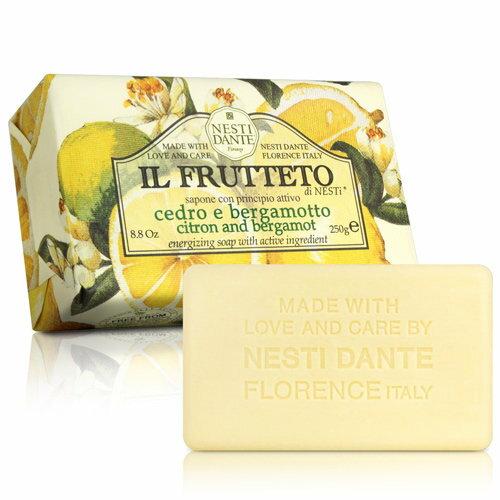 有樂町進口食品 Nesti Dante 義大利手工皂-天然鮮果系列-檸檬和佛手柑(250g) 0
