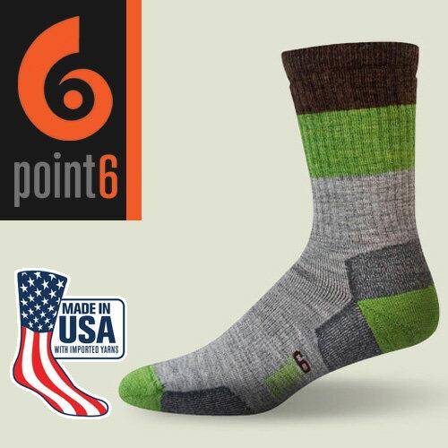 【鄉野情戶外專業】Point6 美國  mixed tech medium 中筒羊毛襪/美麗諾羊毛襪 運動襪 登山襪 戶外襪/1562