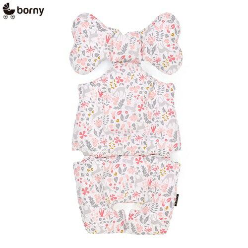 韓國【 Borny 】 全身包覆墊(推車、汽座、搖椅適用) (粉小鹿) 0