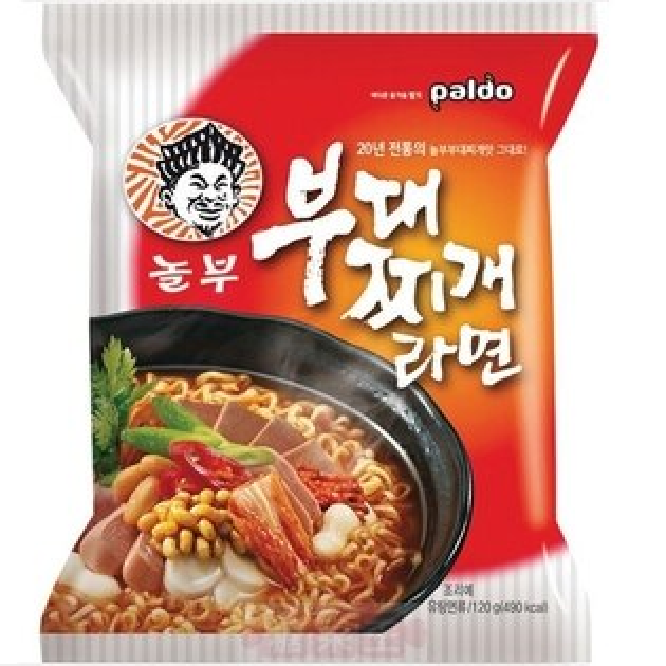 韓國泡麵 Paldo八道 部隊鍋拉麵 韓國部隊鍋名店協作