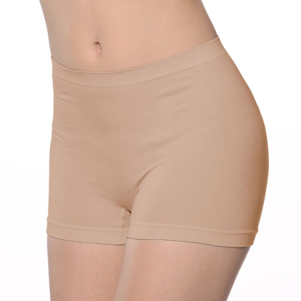 【Emon】《竹炭.無縫》一體成型中高腰平口褲《可當安全褲》 2