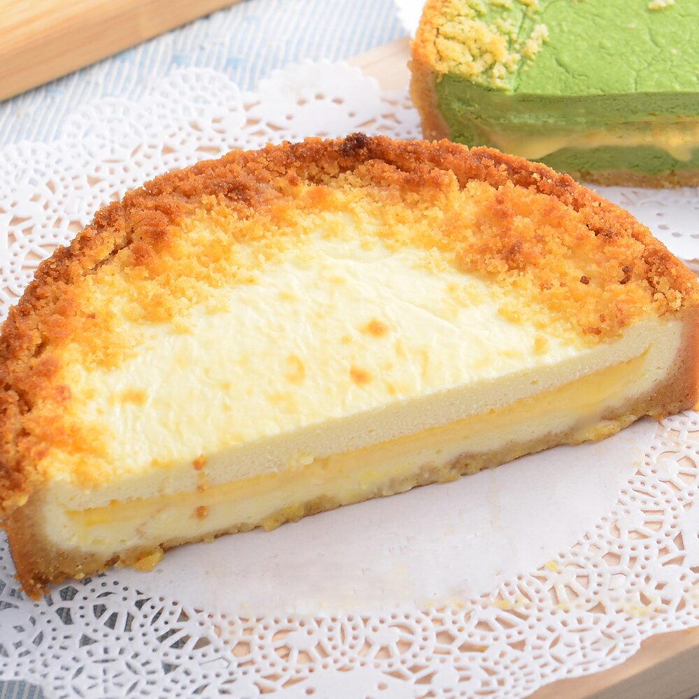 新品上市【艾波索.芝心半熟乳酪蛋糕4吋】起司乳酪控最愛!經典乳酪搭配芝心起士口味鹹甜交錯,經典絕佳的味覺組合 0
