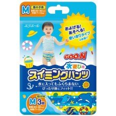 『121婦嬰用品館』大王 戲水褲(男) M -3入 0
