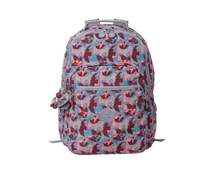 OUTLET代購【KIPLING】時尚經典Seoul旅行袋 斜揹包 肩揹包 後揹包 潑墨紅 1