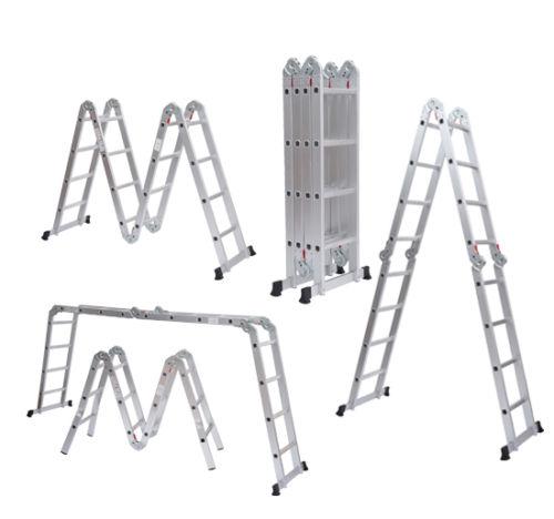 Comprar de escalera de aluminio compara precios en for Escalera de aluminio extensible 9 metros