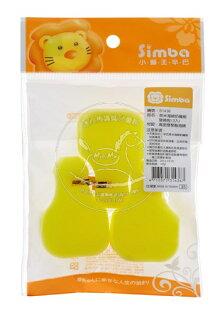 【迷你馬】Simba 小獅王辛巴 奈米海綿奶嘴刷替換包-3入 S1436