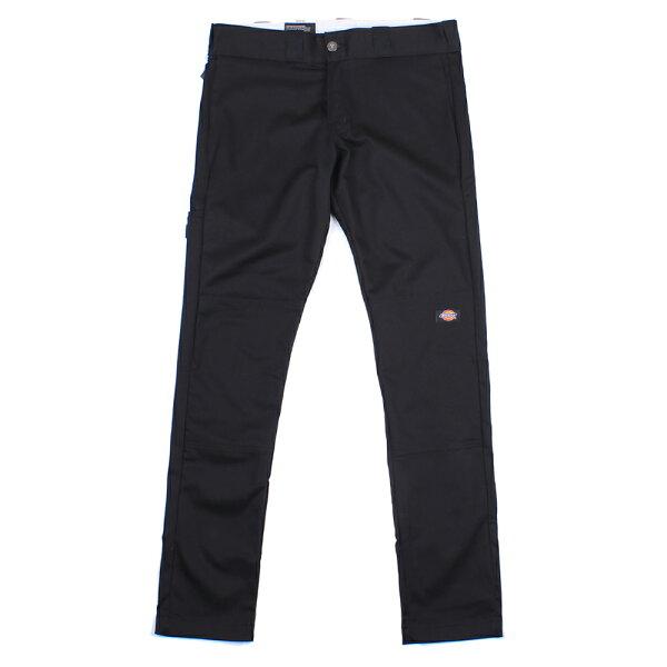 【EST】美版 DICKIES WP811 SKINNY FIT WORK PANTS 窄版 直筒 工作褲 [DK-5005-002] 黑 W28~36 F0108