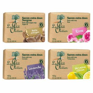 小橄欖樹草本極致保濕超柔香皂100g(四款可選)