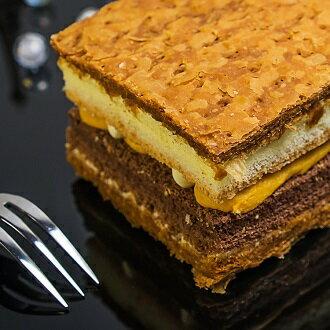 【a mille手創烘焙】乳酪地瓜千層酥 (長16*寬7.5*高5.5cm)