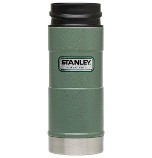 【鄉野情戶外專業】 Stanley |美國|  經典單手保溫咖啡杯/304不鏽鋼保溫杯/10-01569 【354ml】