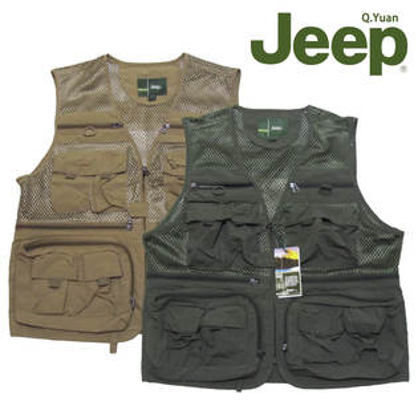 Jeep背心、釣魚背心、攝影背心、防潑水背心、登山背心、網眼布通風透氣、美式休閒背心、多口袋背心、多功能背心、記者背心、導演背心、戰術背心、工作背心、戶外休閒馬甲、立體口袋背心、拉鍊口袋背心、卡其背心、軍綠背心(321-8991-11)軍綠(321-8991-16)卡其 胸圍:L XL 2L(47~49英吋)