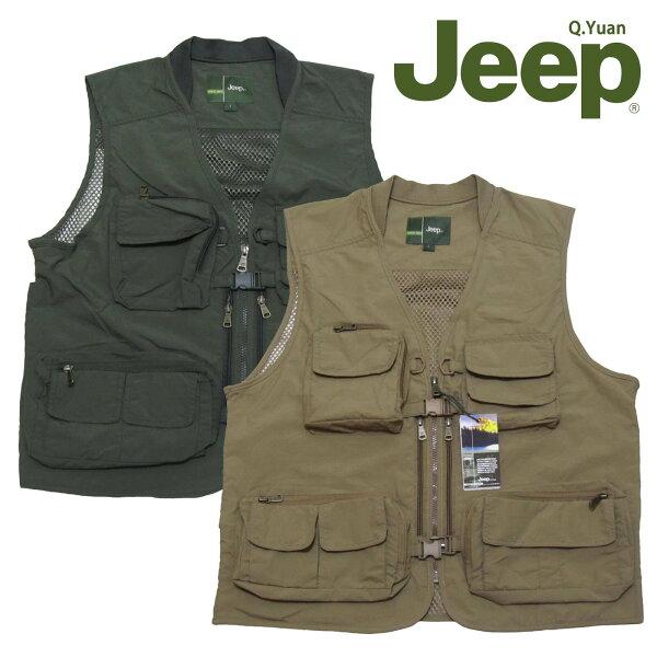 Jeep背心、釣魚背心、攝影背心、防潑水背心、登山背心、網眼布通風透氣、美式休閒背心、多口袋背心、多功能背心、記者背心、導演背心、戰術背心、工作背心、戶外休閒馬甲、立體口袋背心、拉鍊口袋背心、卡其背心、軍綠背心(321-9992-11)軍綠(321-9992-16)卡其 胸圍:L XL 2L(47~49英吋)
