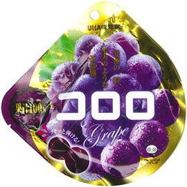 現貨供應 日本 UHA味覺糖_コロロ果汁軟糖/QQ軟糖(紫葡萄)