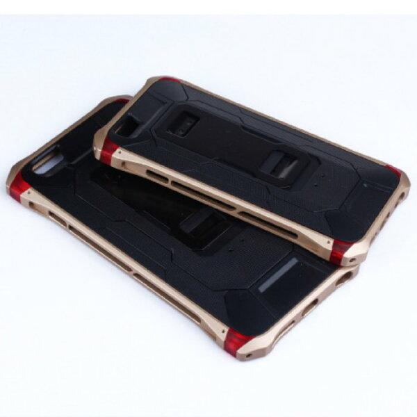 【當日出貨】iPhone6/Plus 防摔超輕金屬背夾邊框手機殼 背蓋 手機殼 保護殼 手機套 Element ROCK-MOOD